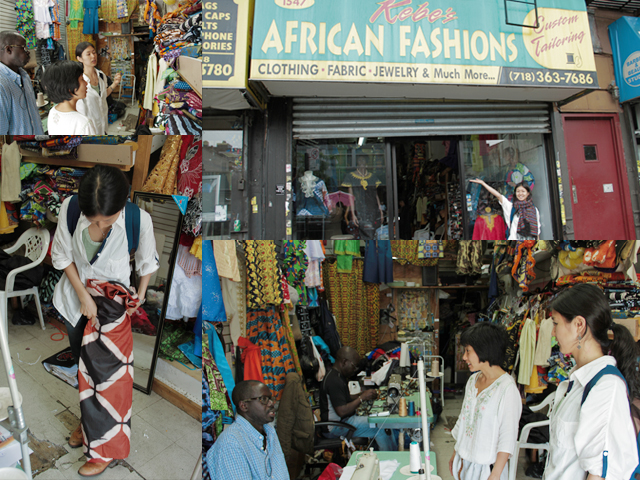 Kebe: The African Tailor